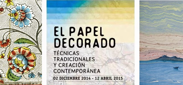 Ausstellung El Papel Decorado in Madrid